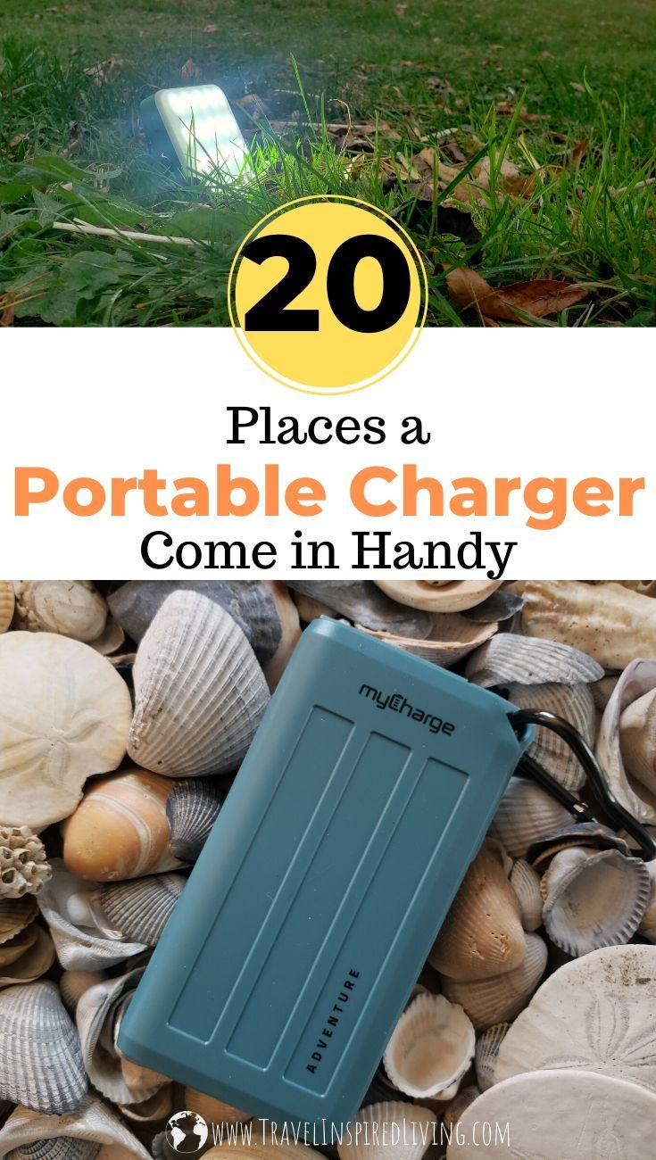 20 Places a Portable Charger Come in Handy