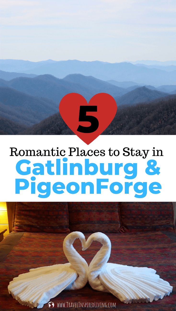 romantic places to stay in gatlinburg