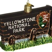 National Parks Glass Blown Ornaments