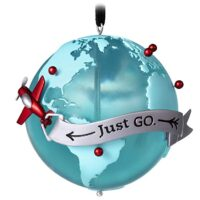 Adventure Globe Travel Ornament