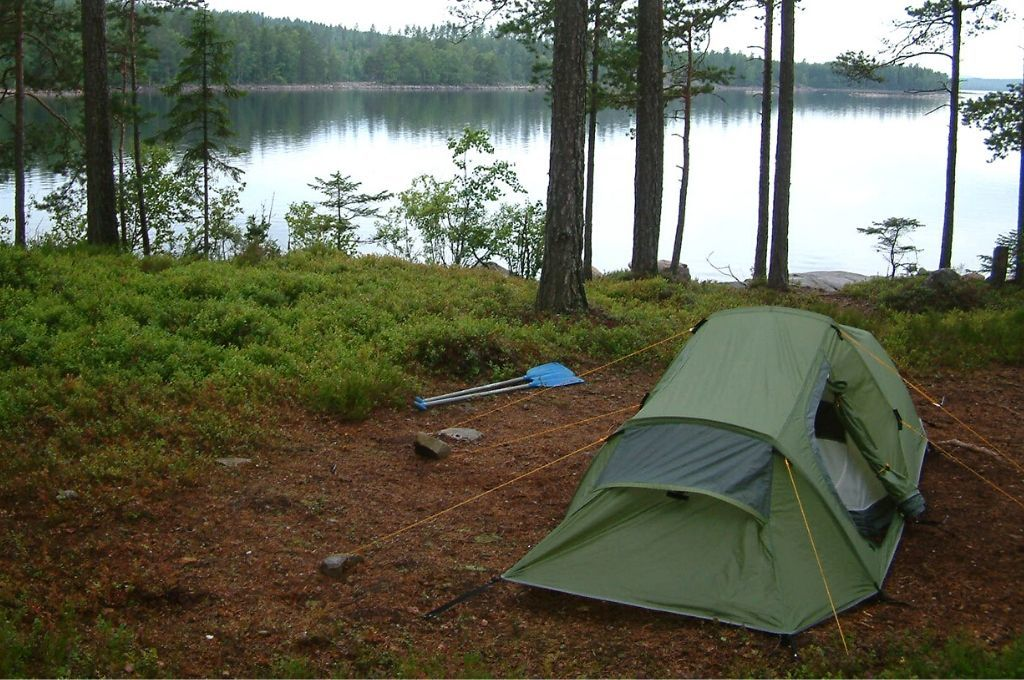 camping in the backcountry