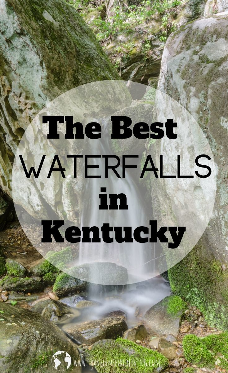 The Best Waterfalls in the state ofKentucky.