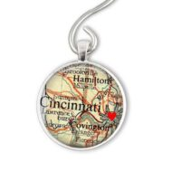 Personalized Map Christmas Ornament