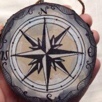Christmas Tree Ornament Compass