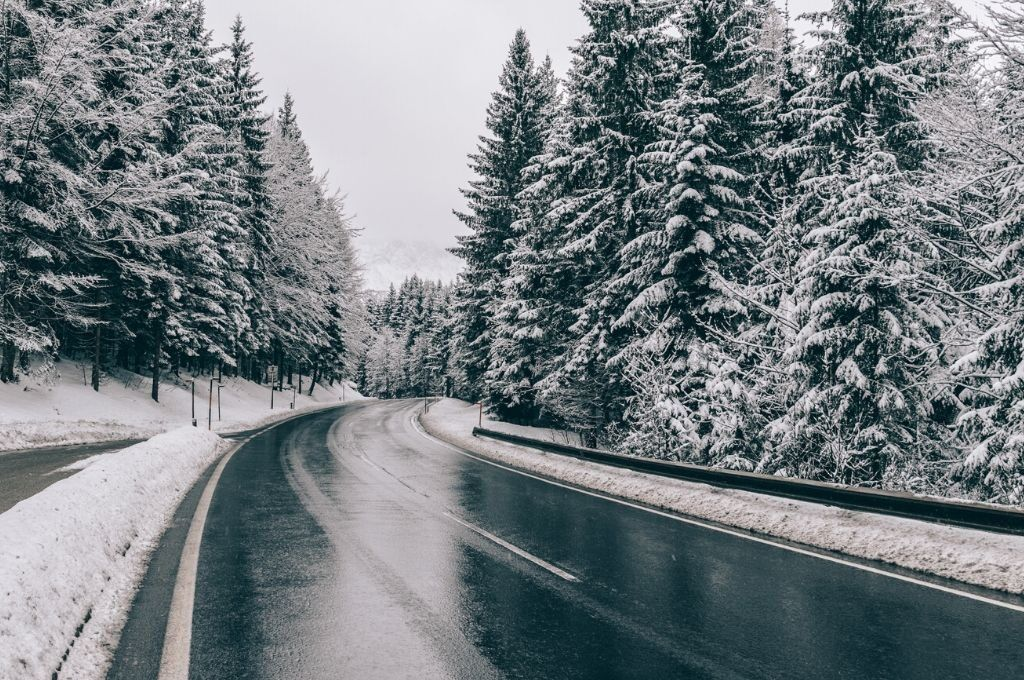 a winter road trip