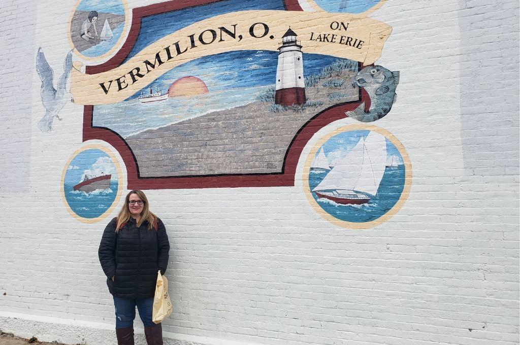 Murals in Vermilion Ohio