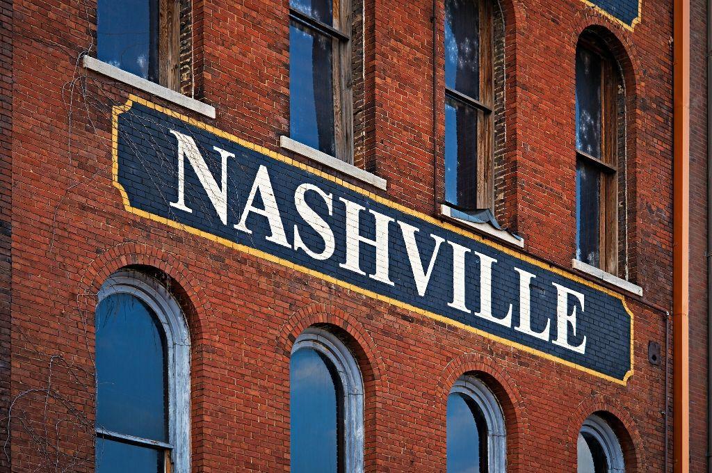 Brick building in Nashville