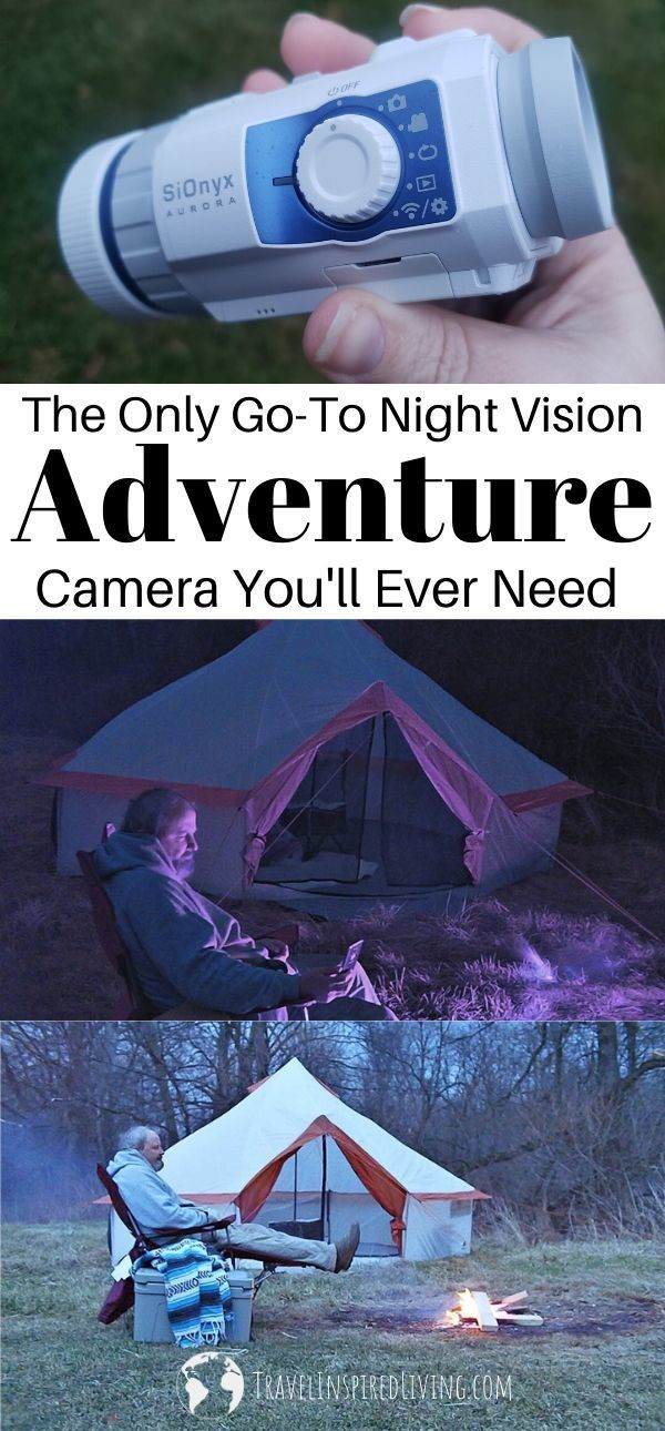 The SiOnyx Aurora Sport Color Night Vision Camera is built for adventure! Take it camping, hiking, kayaking, snowboarding- nearly any adventure you can think of. This military-grade, water-resistant camera is your go-to camera when you're ready to document your adventures. #Ad #AuroraNightVision #SiOnyxAurora #NightLife