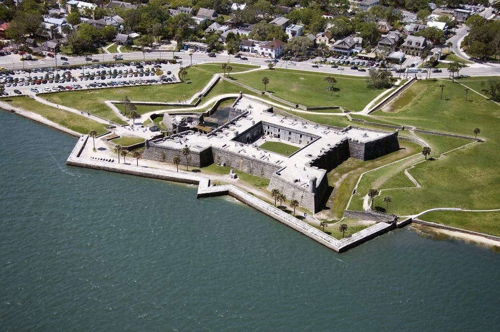 St. Augustine is full of history like this fort.