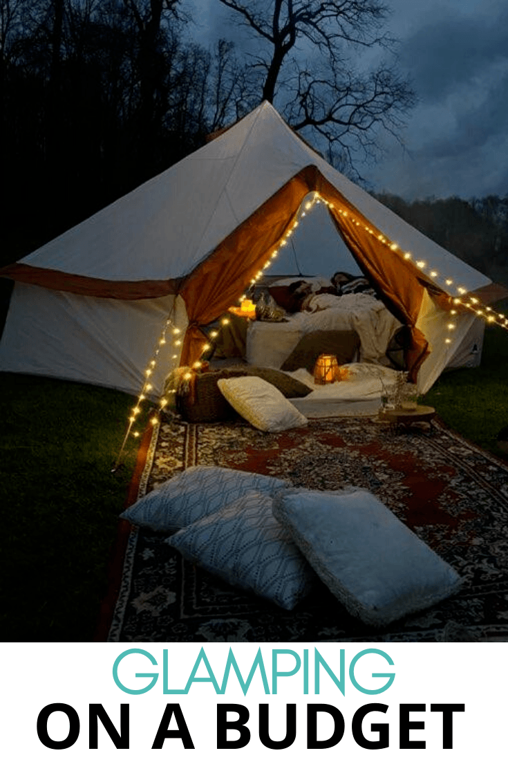 Glamping is a fun way to make family memories.
