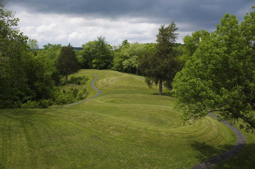 Serpent shaped mound
