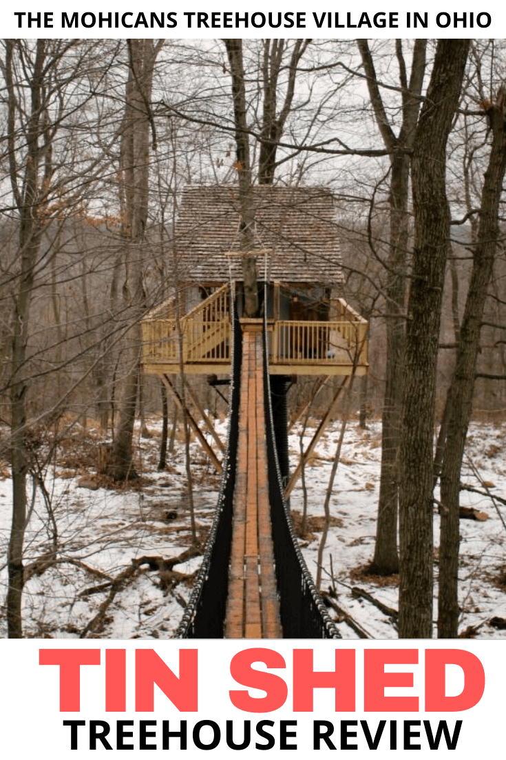 treehouse rental during the winter