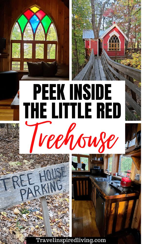 Take a Peek inside the Little Red Treehouse