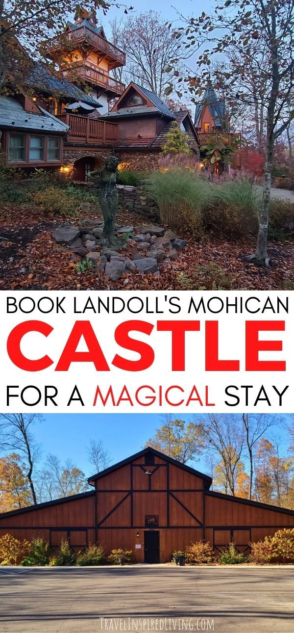 Book an amazing stay at Landoll's Mohican Castle
