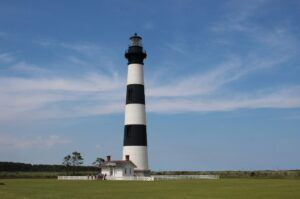 Bodie Island Lighthouse is a gorgeous lighthouse.
