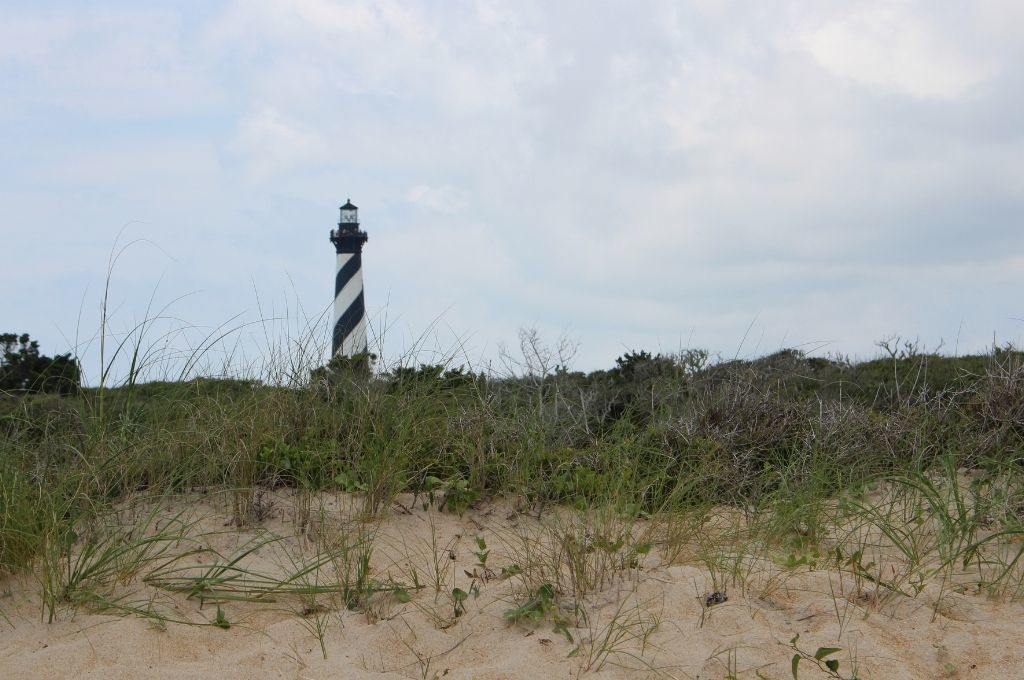 Cape Hatteras Lighthouse is the tallest lighthouse in the U.S.