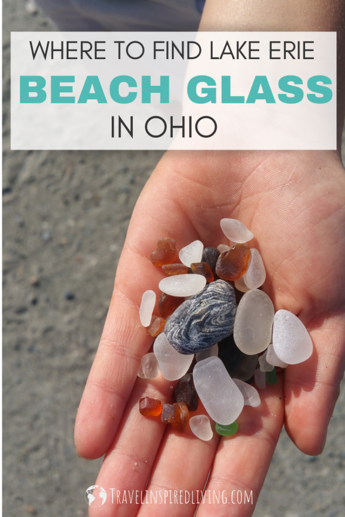 Did you know you can find beach glass in Ohio?