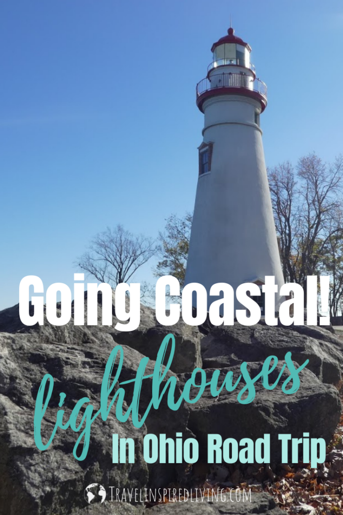 There are several lighthouses in Ohio that can be viewed along the coast of Lake Erie including the Marblehead Lighthouse which is located on the rocky shore in Marblehead State Park.
