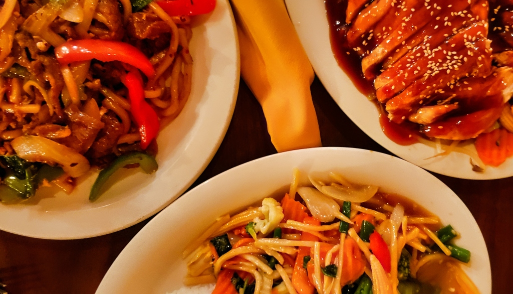 A selection of Thai food from Thai 9 in Dayton.